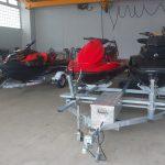 新木場で登録、検査!材木座に納艇🚤